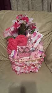 attractive diy baby shower baskets idea for girls awesome baby gift basket