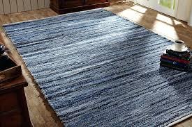 denim rag rug details about 5 x 8 reversible denim hemp rag rug loom woven blue