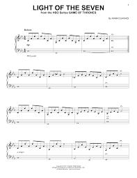 Light Of The Seven Piano Notes Ramin Djawadi Light Of The Seven From Game Of Thrones Sheet Music Notes Chords Download Printable Piano Solo Sku 176351