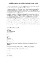 Graceful Resignation Letter Example New 9 Employee Resignation