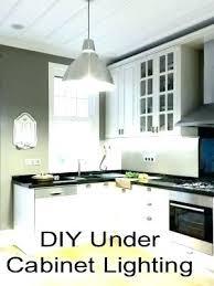 diy under cabinet lighting. Delighful Diy Easy Under Cabinet Lighting Other Creative Intended  Diy  With Diy Under Cabinet Lighting N