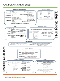 california dmv cheat sheet ca regs procedures cheat sheet final