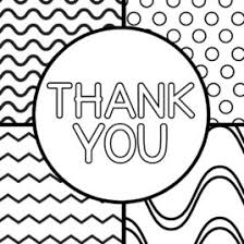 Thank You Black And White Printable Thank You Card Drawing At Getdrawings Com Free For