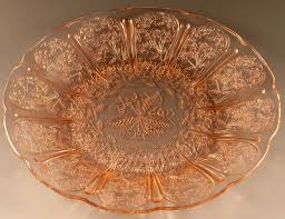 Pink Depression Glass Patterns