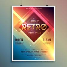 Party Flyer Free Vector Art - (8527 Free Downloads)