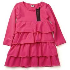 Fuchsia Ruffle Toddler Girls Dress By Appaman