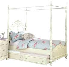Full Size White Canopy Bed Canopy Bed For Main Bedroom Red Headboard ...