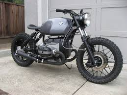 1977 bmw r100s motorcycle custom scrambler bobber caf custom