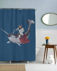 Shark Decorations For Bedroom Kids Shark Shower Curtain
