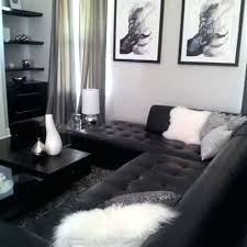 black leather sofa decor. Contemporary Black Gray Leather Couch Decorating Ideas Living  Room With Black  With Black Leather Sofa Decor O