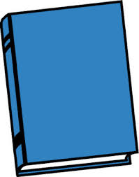 free closed book clipart image