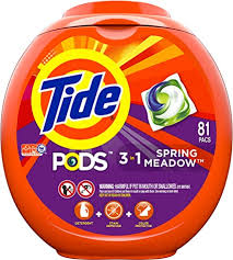 Tide Pods 3 in 1, Laundry Detergent Pacs, Spring ... - Amazon.com