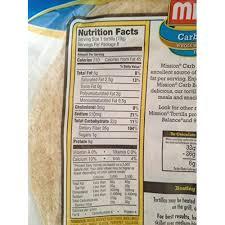 mission flour tortillas nutrition label pictures collection of
