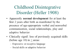 Comparison of    variables not directly related to the key features of childhood  disintegrative disorder  CDD  between early onset    age    CDD and