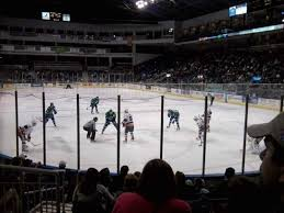 Sound Tigers Seating Chart Webster Bank Arena Section 119 Row D Seat 10 Bridgeport