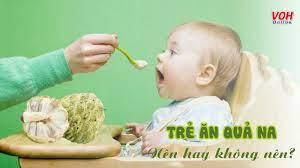 Trẻ em ăn na có tốt không? 6 lợi ích từ quả na dành cho trẻ