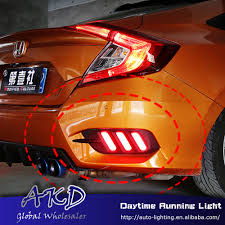 Civic Rear Bumper Light Us 39 15 13 Off Car Styling For Honda Civic 10g Rear Reflector For New Civic Mustang Rear Bumper Light Drl Brake Lamp Rear Bumpe Reflector In Car