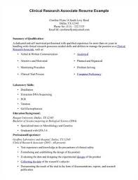 Clinical Research Coordinator Resume Sample Article Title Clinical Research Resumes