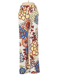 Details About Louis Vuitton Women Ivory Dress Pants 40 Italian
