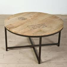 wood round coffee table wooden with glass top iron wood round coffee table