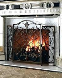 fireplace doors home depot covers prefab prefabricated glass