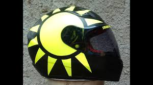 Maybe you would like to learn more about one of these? Modifikasi Helm Yamaha Vixion Ala Agv Soleluna 2018 Vr 46 Youtube