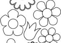 Easy Coloring Pages To Draw Printable Coloring Page For Kids