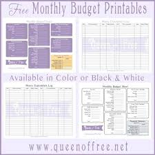 Free Family Budgeting Worksheets Printable Family Budget Template Dailystonernews Info