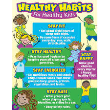 Science Related Chart Healthy Habits For Healthy Kids Chart