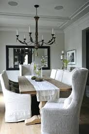 slipcovered dining chairs dining chairs slipcovers dining room chairs without arms