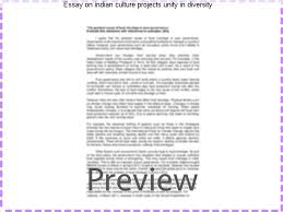essay on n culture projects unity in diversity coursework  essay on n culture projects unity in diversity unity in diversity raised doubts
