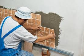 lovable ceramic tile installation how to install wall tile howtospecialist how to build step