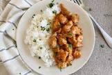 bourbon chicken   jasmine rice