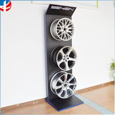 Alloy Wheel Display Stand Wheel Free StandingTire Free StandingTire Floor Display Stand 25