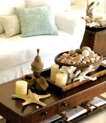 beach coffee table round coffee table with beach themed decor make your coastal beach beech side table uk