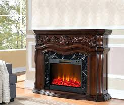 febo flame electric fireplace grand cherry at big