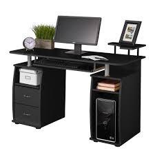 office desk work. Computer PC Desk Work Station Office Home Raised Monitor \u0026 Printer Shelf Table F