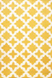 modern rug patterns. Rugsville Moroccan Trellis Yellow Wool Rug 17119 Modern Patterns A