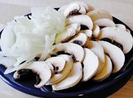 лук грибы