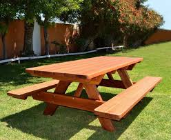 furniture redwood picnic table round plans and benches bench tables eugene oregon used for home