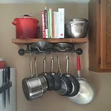 pot rack shelf. Perfect Pot Image 0 On Pot Rack Shelf U