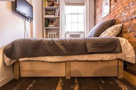 How One New Yorker Lives Comfortably In 90 Square Feet - Curbed NY