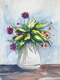 ideas for easy watercolor paintings to
