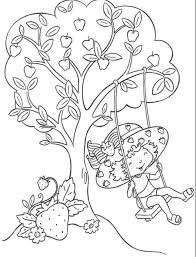 Strawberry Shortcake Coloring Pages : With Friend Strawberry ...