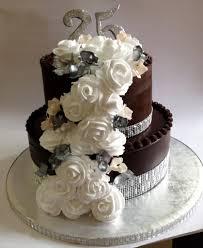 25th Anniversary Chocolate Cake