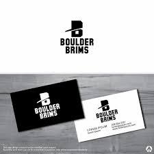 Graphic Designer Boulder Personable Modern Clothing Logo Design For Boulder Brims