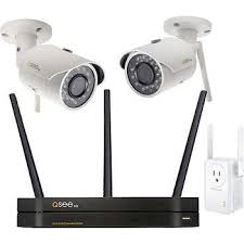 Q-See NVR 4 Channel HD Security System, 2 Cams (QCW4)
