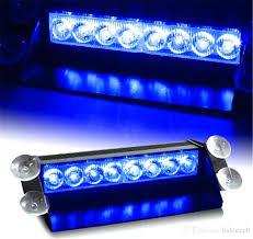 led strobe light 8 led strobe light car flash light emergency warning light high power free led strobe light
