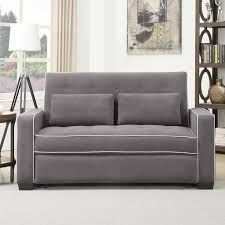 image of small sleeper sofa with storage