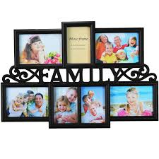 multiple picture frames family. Contemporary Family Kitchen  With Multiple Picture Frames Family